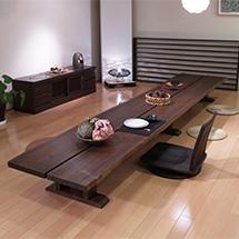 杉ロングテーブル LLS-L