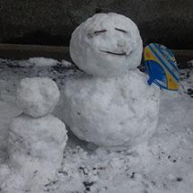 雪の日の1枚