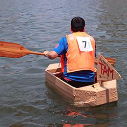YEGCUPダンボールボートレース